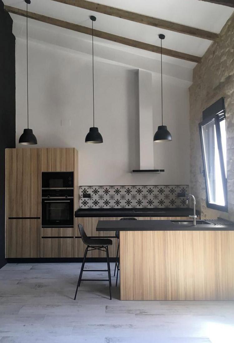 foto vertical cocina